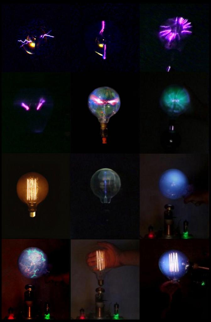 various plama lamps