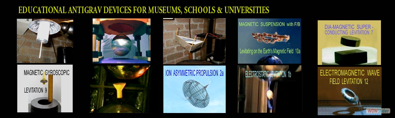 Educational Antigravity Displays